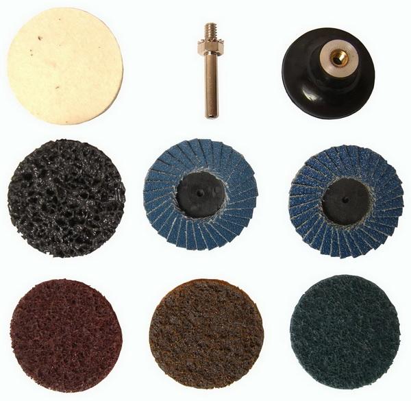 polier u schleifteller satz 9 teilig f r bohrmaschine akkuschrauber ebay. Black Bedroom Furniture Sets. Home Design Ideas